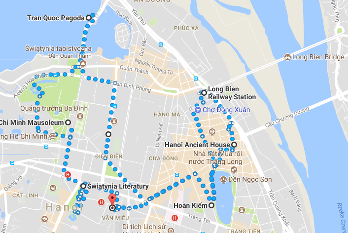 Hanoi spacer